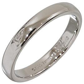 Tiffany & Co. Platinum Wedding Band Ring Size 7