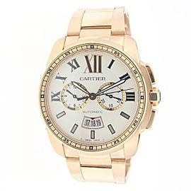 Cartier Calibre W7100018 42mm Mens Watch