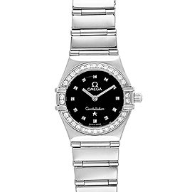Omega Constellation My Choice Mini Ladies Diamond Watch 1465.51.00