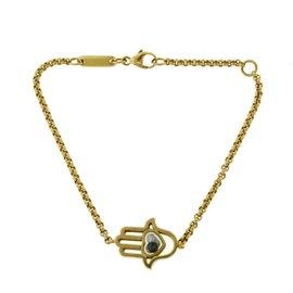 Chopard Happy Diamonds 18K Rose Gold with 0.05ct Diamond Hamsa Hand Bracelet