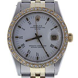 Rolex Date 15053 Vintage 34mm Mens Watch