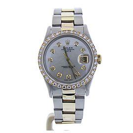 Rolex Date 15053 Vintage 34mm Womens Watch