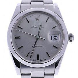 Rolex Oyster Date 6694 Vintage 34mm Womens Watch