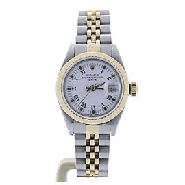 Rolex Date 69173 26mm Womens Watch