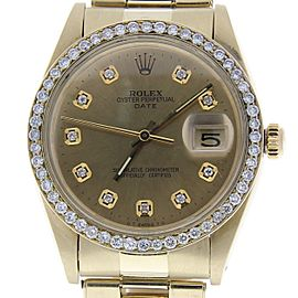 Rolex Date 1503 Vintage 34mm Mens Watch