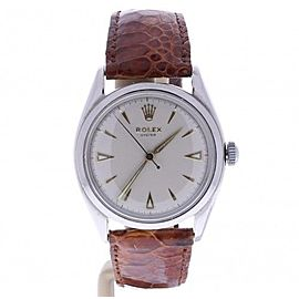 Rolex Oyster 6022 Vintage 34mm Mens Watch