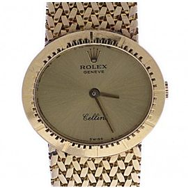 Rolex Cellini 4081 Vintage 25mm Womens Watch