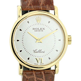 Rolex Cellini Geneve 6110 25mm Womens Watch