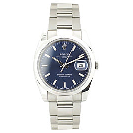 Rolex Date 115200 34mm Unisex Watch
