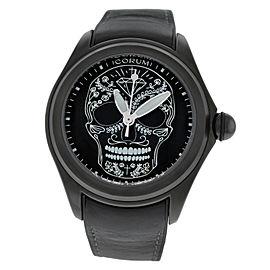 Corum Bubble Limited Ed. Skull 082.310.98/0371 SM01 47mm Mens Watch
