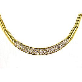 H. Stern Diamond 18 Karat Yellow Gold Link Necklace