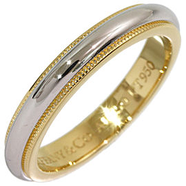 Tiffany & Co. Yellow Gold, Platinum Ring Size 5.5