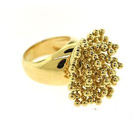Cartier Paris Nouvelle Vague Perruque Wig Ring in 18k Yellow Gold, Size 58
