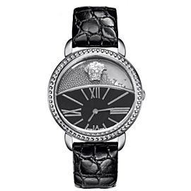 New Versace Krios 93Q99BD008 S009 Floating Spheres Steel 38MM Quartz Watch
