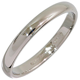 Tiffany & Co. Platinum Wedding Ring Size 9.5