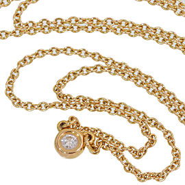 Tiffany & Co. Elsa Peretti Diamond by the Yard 18K Yellow Gold Diamond Necklace