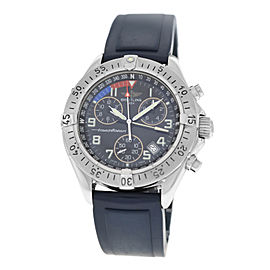 Mens Breitling SuperOcean A53340 Steel Date Quartz 41MM Watch
