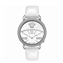 New Versace Krios 93Q99D02C S001 Stainless Steel 38MM Quartz Watch