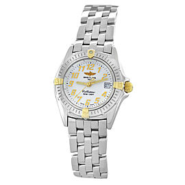 Ladies Breitling Callistino B52045.1 Steel Quartz Date 28MM Watch