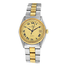 Unisex Baume & Mercier Baumatic Steel Gold 30MM Automatic Watch