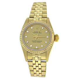 Rolex Oyster 25mm Womens Watch