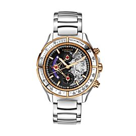 Versace DV One Skeleton VK802 0013 44mm Mens Watch