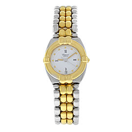 Ladies Chopard Gstaad 8112 Quartz 18K Yellow Gold 23MM Date Watch