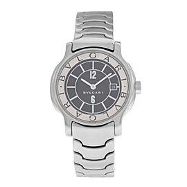 Lady Bulgari Bulgari Solotempo ST29S Stainless Steel Date Quartz Watch