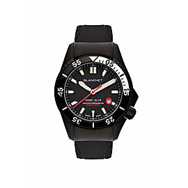 Mens Blanchet Deep Dive DD1000.ACN.01 Steel Automatic 44MM Watch