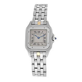 Ladies Cartier Panthere 1320 Stainless Steel 22MM Watch