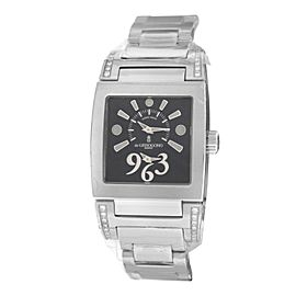 Ladies De Grisogono Tino Acier N01.002/B Steel Quartz 29MM Watch