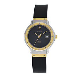 Ladies Hublot MDM Geneve Classic 1390.2 Steel 18K Gold Quartz 28mm Date Watch