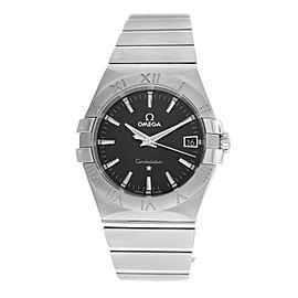 Unisex Omega Constellation 123.10.35.60.01 Steel Quartz 35MM Watch