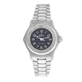Ladies Ebel Discovery 9087321 Steel 30MM Quartz Date Watch