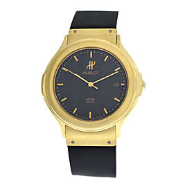 Men's Unisex Hublot MDM Geneve 1512.3 18K Yellow Gold Date Automatic 36MM Watch