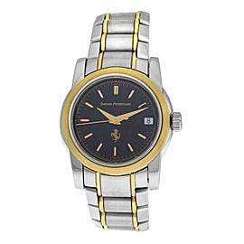 Men's Girard-Perregaux Ferrari 8025 Steel Gold Automatic 36MM Watch