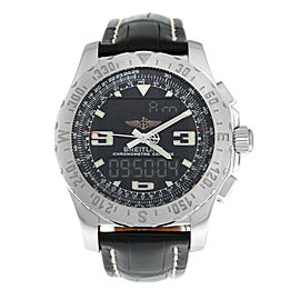 Men Breitling Airwolf SuperQuartz A78363 A7836323/B911 44MM Multifunction Watch