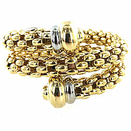 Fope 18 Karat Yellow Gold Coin Bracelet