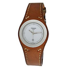 Unisex Hermes Harnais HA3.410 Stainless Steel Quartz 31MM Watch