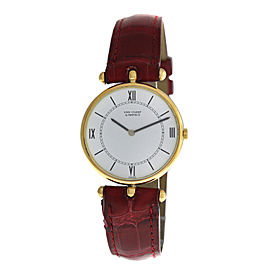 Ladies Van Cleef & Arpels Ref. 9065 Solid 18K Yellow Gold Mechanical 30mm Watch