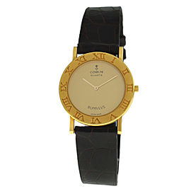 Unisex Midsize Corum Romvlvs 50.101.56 18K Solid Rose Gold Quartz 30M Watch