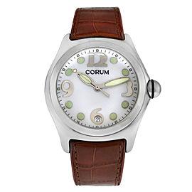 Men's Corum Bubble 163.150.20 0F06 Stainless Steel Date Quartz 45MM Watch