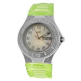 Ladies TechnoMarine Apnea TMAX05 MOP Day Date Quartz 38MM Watch + 4 Straps