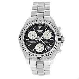 Authentic Breitling Colt A73350 Chronometer 38MM Date Quartz Watch
