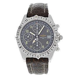 Men's Breitling Chronomat Longitude A20048 Steel Automatic 40MM Watch