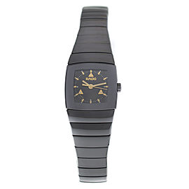 New Ladies' Rado Sintra R13726172 Ceramic 22MM Date Quartz $2,700 Watch