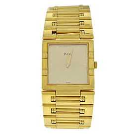 Ladies Piaget Dancer 80317K81 Solid 18K Yellow Gold 23MM 89 GR. Watch