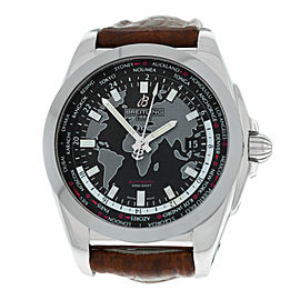 New Mens Breitling Galactic Unitime WB3510U4/BD94 Automatic 44MM Watch