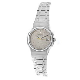 New Ladies' Longines 19 Stainless Steel Quartz 20mm Watch