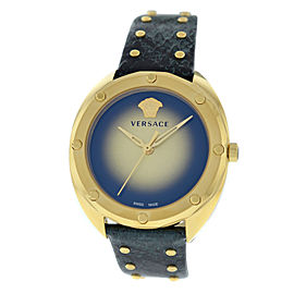 New Ladies' Versace Shadov VEBM00318 Gold Electroplated Quartz 38MM Watch